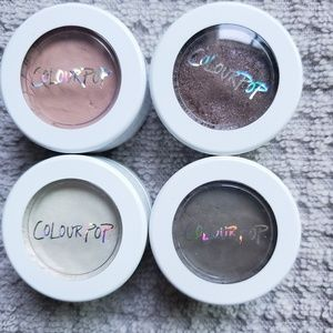 Colourpop Super Shock Shadow Bundle of 4